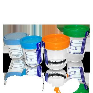 Frasco para recolección de muestras de orina