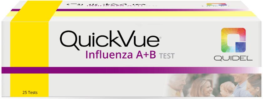 Prueba de Influenza A y B QuickVue