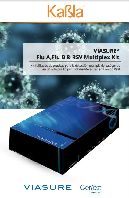 brochure viasure FLU A, flu b y rsv