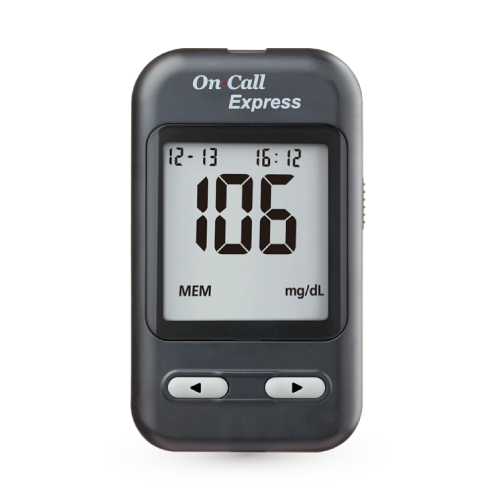 Glucómetro On Call Express